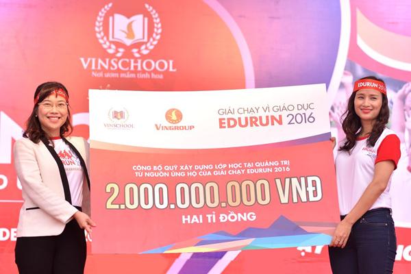 """Dàn sao """"đổ bộ"""" tới Edurun 2016, góp quỹ xây trường cho trẻ em nghèo ảnh 7"""