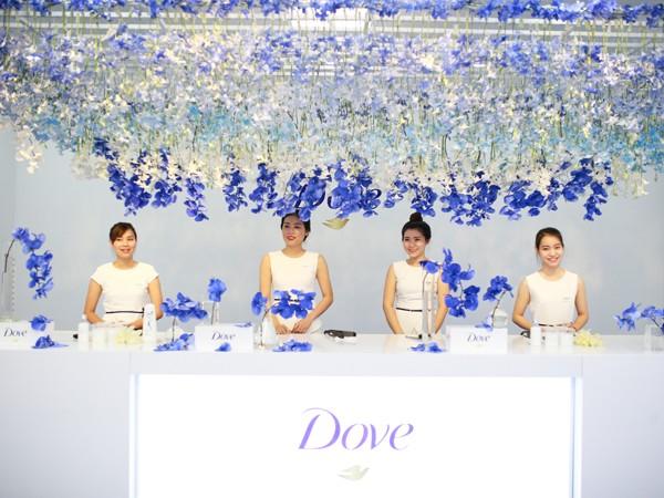 Dove- Hoa Lan tỏa sắc- tôn vinh vẻ đẹp tinh khiết của người phụ nữ ảnh 1