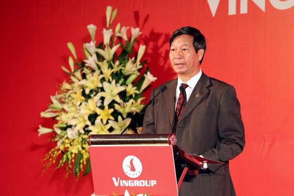 Phó chủ tịch Vingroup Lê Khắc Hiệp phát biểu tại sự kiện.