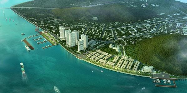 Phối cảnh minh họa tổng thể khu đô thị Vinhomes Dragon Bay
