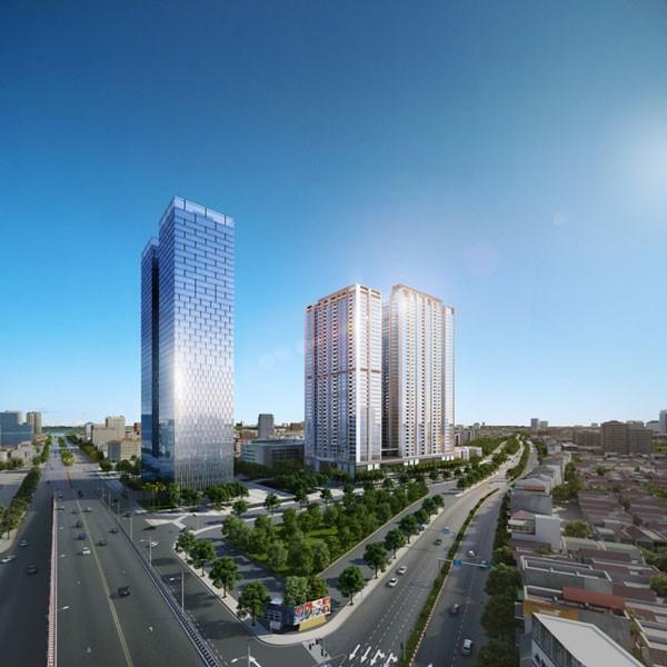 Tòa M1 nằm ở trung tâm Vinhomes Metropolis đang thu hút sự quan tâm lớn từ khách hàng
