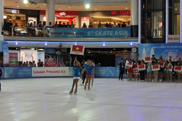 Vinpearl Land đưa HCV đầu tiên tại Giải trượt băng Châu Á về cho thể thao Việt Nam ảnh 1