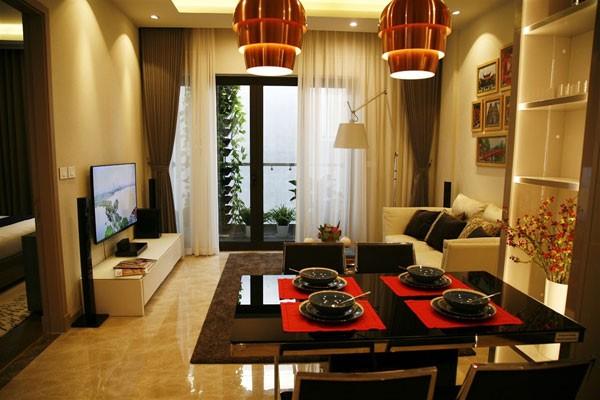 Nội thất Sun Grand City Residence 69B Thụy Khuê