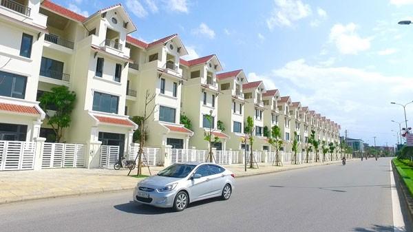 Nhà liền kề Vinhomes Hà Tĩnh với thiết kế hiện đại và hướng ra mặt phố tấp nập