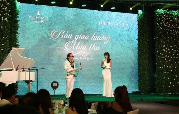 Không gian sang trọng, đẳng cấp của The Botanica được tái hiện tại đêm tiệc.