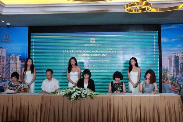 Sun Grand City Thuy Khue ký hợp đồng chiến lược