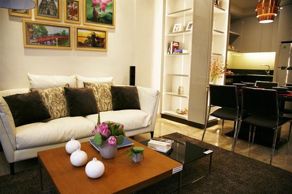 Phòng khách Sun Grand City Thuy Khue
