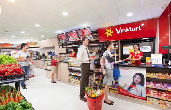 Vincommerce bao gồm các thương hiệu bán lẻ Vinmart, VinPro, Adayroi,…