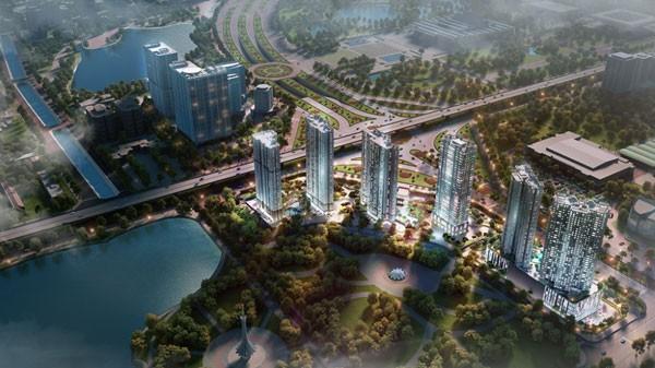 """Không chỉ hội tụ được các điểm vàng về vị trí, không gian xanh và thiết kế sang trọng, D'.Capitale còn may mắn hội tụ được tinh hoa từ ba doanh nghiệp lớn, tạo thế chân kiềng vững chắc cho dự án""""."""