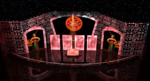 Sân khấu liveshow Xuân Hinh-Kẻ chọc cười dân dã