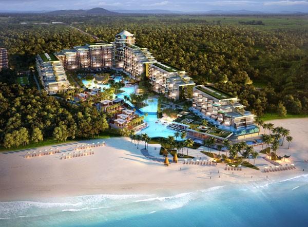Tổng thể dự án Condotel Residences Phu Quoc Emerald