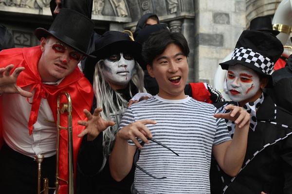 Bùng nổ với Lễ hội Halloween tại Bà Nà Hills