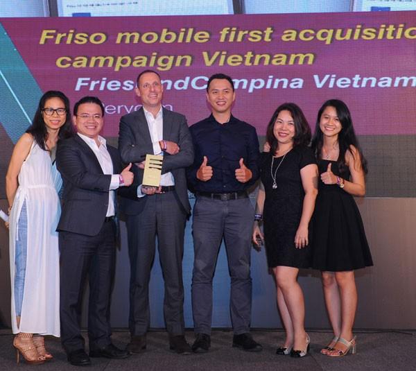 FrieslandCampina Việt Nam giành 5 giải thưởng Smarties™ Việt Nam 2016