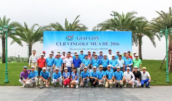 Thành viên CLB VinGolf tranh giải mùa hè 2016