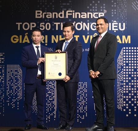 Brand Finance vinh danh VietinBank Top 10 Thương hiệu giá trị nhất Việt Nam