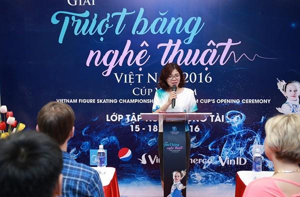 """Hoạt động tập huấn trọng tài của """"Giải trượt băng nghệ thuật Việt Nam 2016 - Cúp Vincom"""" vừa diễn ra trong ngày 15/12/2016."""