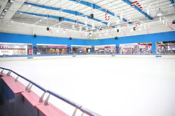 Sân băng Vincom Ice Rink Thảo Điền thuộc chuỗi sân băng đạt chuẩn quốc tế duy nhất tại Việt Nam - đã sẵn sàng cho Giải đấu.