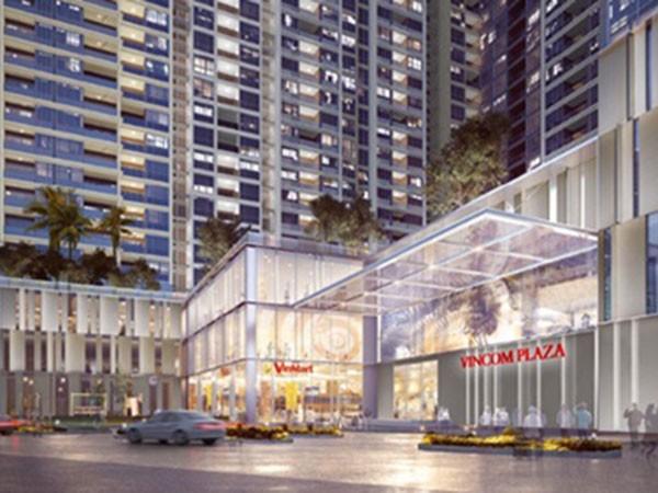 Hệ thống trung tâm thương mại Vincom Plaza và siêu thị Vinmart đáp ứng đầy đủ nhu cầu mua sắm của cư dân