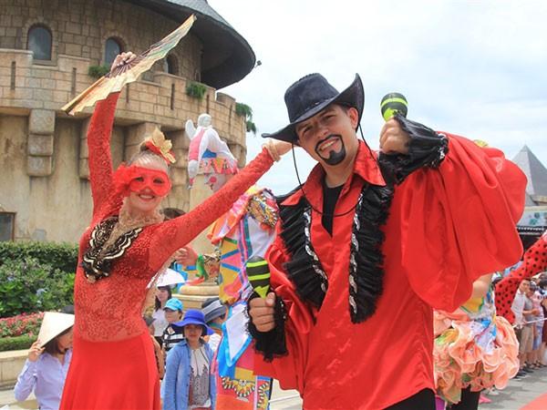 Rộn ràng carnival xuân Bà Nà Hills ảnh 3