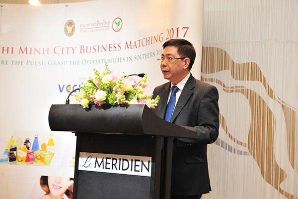 Ông Nguyễn Hoàng Dũng - Phó Tổng Giám đốc VietinBank phát biểu tại sự kiện