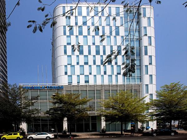 Trụ sở chính công ty Vinamilk tại thành phố Hồ Chí Minh