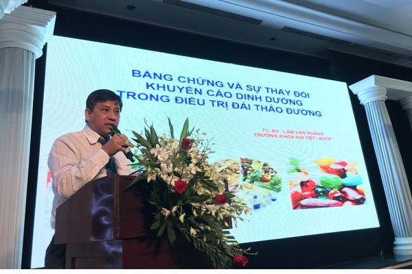 TS. BS Lâm Văn Hoàng cập nhật các mô hình dinh dưỡng trong điều trị cho bệnh nhân đái tháo đường