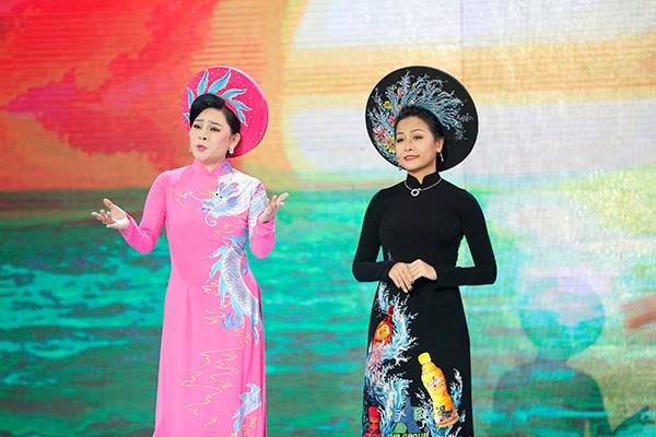 Tiết mục song ca của ca sĩ Đông Đào và Trần Uyên Phương