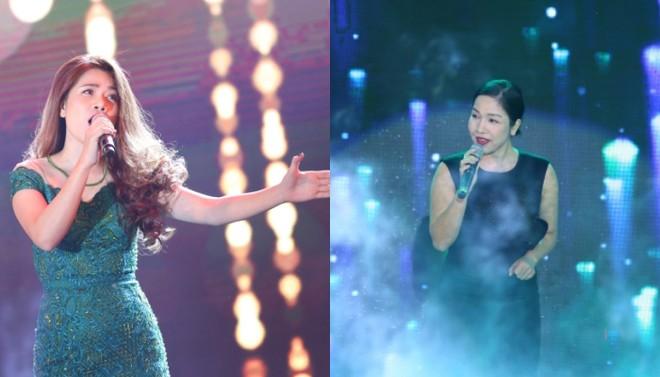 Nữ ca sĩ Mỹ Dung, diva Mỹ Linh mang đến nét nữ tính, lãng mạn cho chương trình.