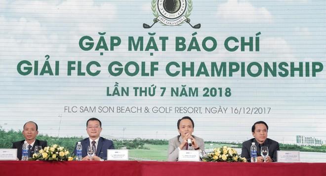 Chủ tịch HĐQT Tập đoàn FLC – ông Trịnh Văn Quyết chia sẻ trong buổi gặp gỡ báo chí.