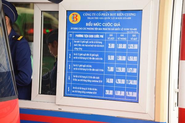 Mở rộng miễn phí, giảm giá vé quốc lộ 18 cho người dân Cẩm Phả
