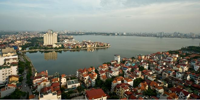 Bất động sản hồ Tây luôn có giá trị bậc nhất Hà Thành