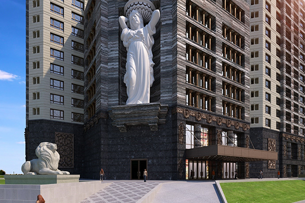 Kiến trúc Pháp Tân Cổ điển của D'. Le Roi Soleil mang vẻ đẹp bề thế, trường tồn góp phần thay đổi diện mạo khu vực Quảng An, Tây Hồ
