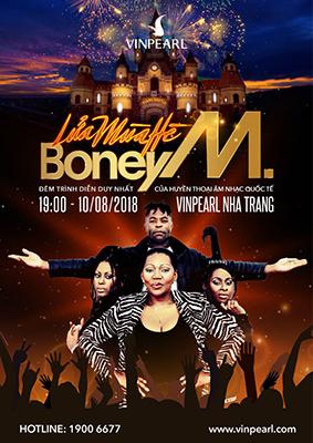 """""""Lửa mùa hè"""" – Liveshow Boney M đầu tiên tại Việt Nam"""