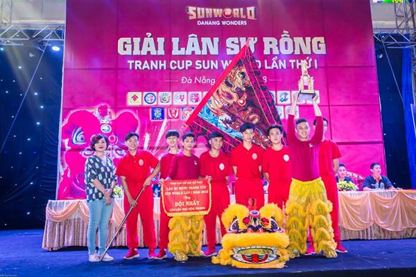 Chiêm ngưỡng những màn trình diễn lân sư rồng đỉnh cao tại Sun World Danang Wonders