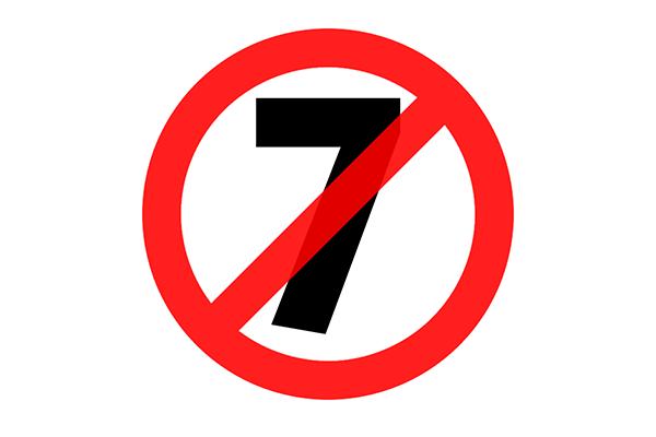 Nhiều người Việt không ưa gì con số 7