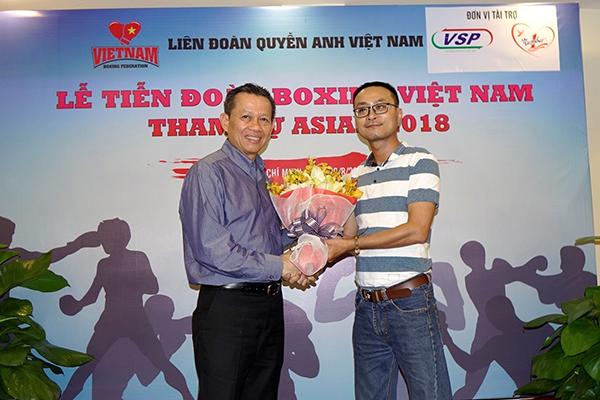 Đại diện Liên đoàn Boxing Việt