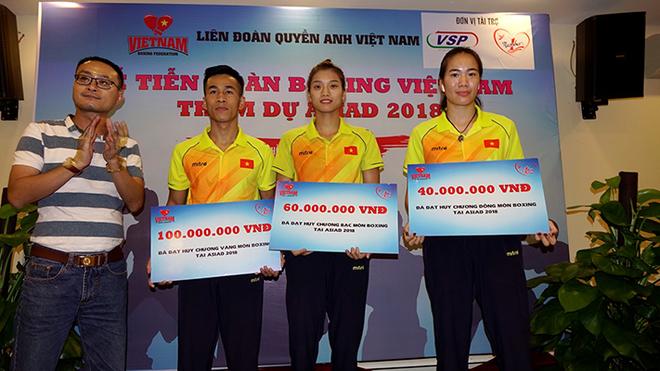 Tập đoàn Tân Hiệp Phát thưởng 100 triệu đồng cho mỗi huy chương Vàng Boxing ở Asiad 2018 ảnh 5