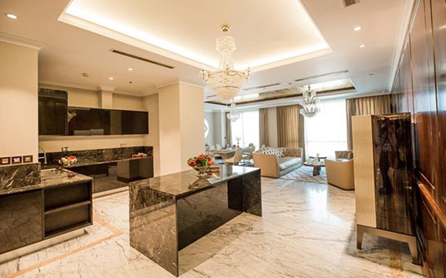 """Mỗi phong cách nội thất trong căn hộ đều được """"tiệp"""" tinh tế với chủ đề của toà tháp kiệt tác và đẳng cấp thượng lưu của các chủ nhân danh giá."""