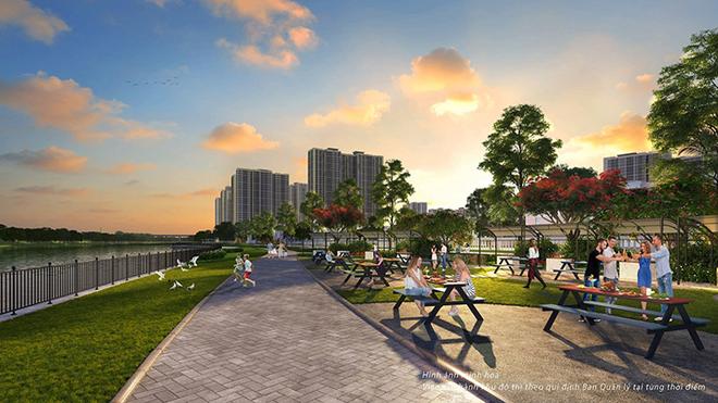 """Thành phố đại dương"""" cũng kiến tạo 6 công viên BBQ với hơn 100 điểm nướng ngoài trời nhằm mang đến không gian sinh thái hoàn hảo cho cư dân sum họp gia đình và kết nối bạn bè"""