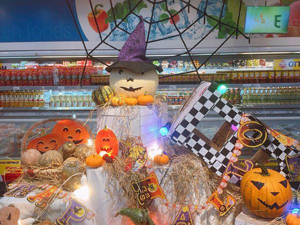 Tận mắt bí ngô kinh dị cho ngày hội Halloween vừa chơi vừa ăn được