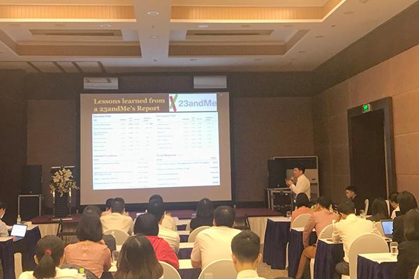 Viện Nghiên cứu dữ liệu lớn vừa tổ chức hội thảo quốc tế trong lĩnh vực nghiên cứu y sinh với sự tham dự của các nhà khoa học Việt kiều Mỹ
