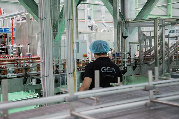 Công nghệ chiết lạnh vô trùng của Aseptic của tập đoàn GEA (Đức) được lắp đặt tại các nhà máy của Tân Hiệp Phát