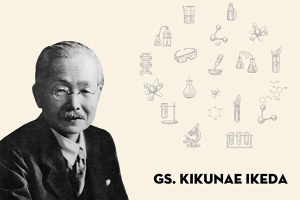 Giáo sư Kikunae Ikeda (1864 - 1936) - người khám phá ra vị umami từ tảo bẹ kombu.