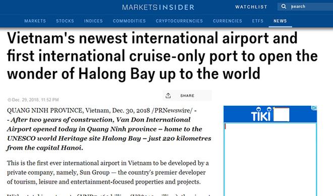 """Hạ Long, Vân Đồn lọt """"tầm ngắm"""" của báo chí quốc tế với 3 dự án giao thông tầm cỡ được vận hành"""