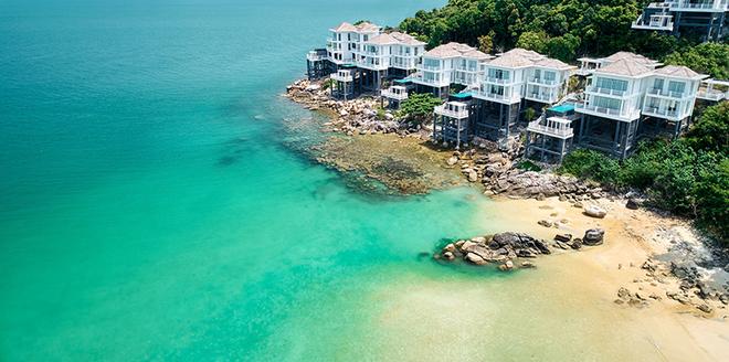 Những khu resort sang trọng và lãng mạn không thể thiếu ở các thiên đường du lịch biển