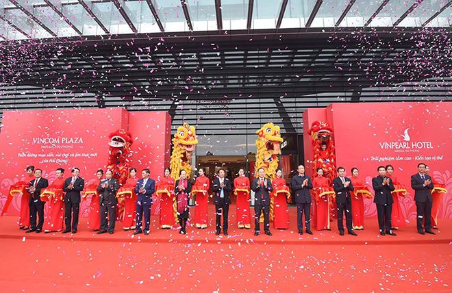 Vingroup khai trương tổ hợp TTTM & khách sạn cao nhất Đông Bắc Bộ