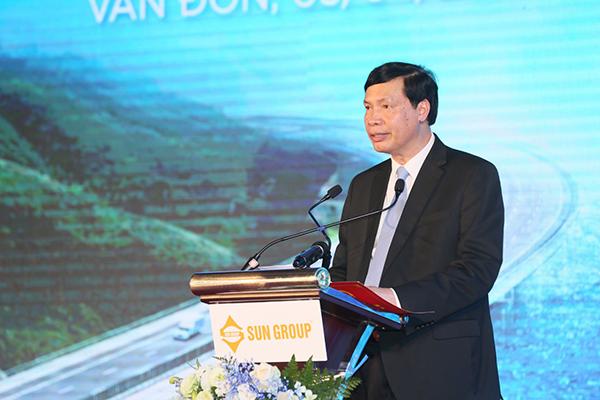 Chủ tịch UBND tỉnh Quảng Ninh phát biểu tại sự kiện