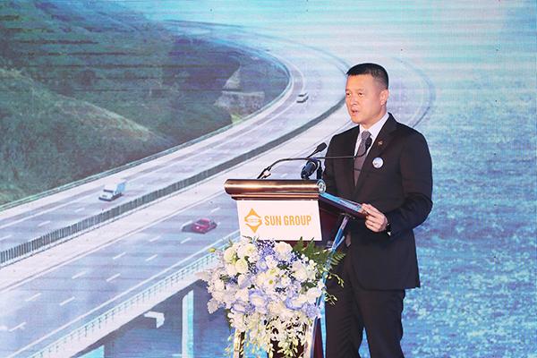 Ông Đặng Minh Trường - Chủ tịch HĐQT Tập đoàn Sun Group phát biểu tại sự kiện