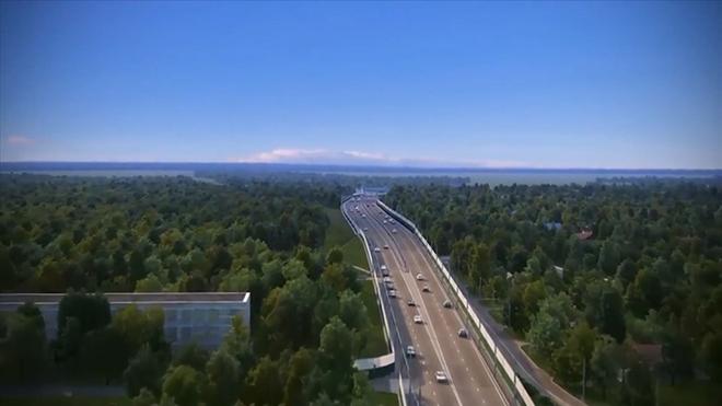 Phối cảnh 3D cao tốc Vân Đồn – Móng Cái