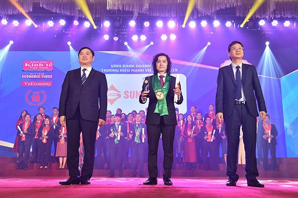 Sun Group năm thứ 3 liên tiếp lọt vào Top 10 Thương hiệu mạnh Việt Nam